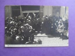 CPA PHOTO ? 17 ROCHEFORT 16 JUIN 1923 FUNERAILLES DE PIERRE LOTI SORTIE DE LA MAISON MORTUAIRE - Funérailles
