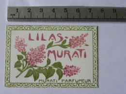 Carte Parfumée - MURATI PARFUMEUR - LILAS - Perfume Cards