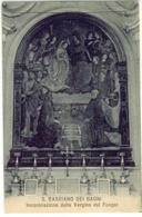 S. CASCIANO DEI BAGNI INCORONAZIONE DELLA VERGINE DEL FUNGAI SIENA - Siena