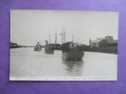 CPA PHOTO ? 17 ROCHEFORT 16 JUIN 1923 FUNERAILLES DE PIERRE LOTI BATEAUX - Funérailles