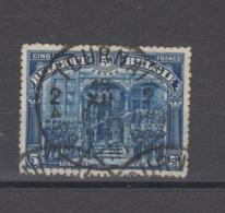COB 148 Oblitération Centrale TOURNAI 2 - 1915-1920 Albert I