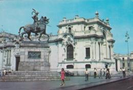 CARTOLINA - POSTCARD - PERù - LIMA - MONUMENTO ALCONQUISTADOR - Perù