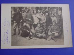 """Photo Poilus ,Chasseurs Alpins En Alsace Sept 1916 """"Camp De S. """" ? - 1914-18"""