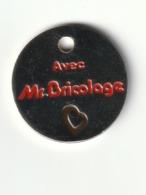 JETON DE CADDIES : MR BRICOLAGE  Neuf  Acier - Trolley Token/Shopping Trolley Chip