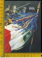 Arma Dei Carabinieri 1°Centenario Della Bandiera Nazionale - Reggimenti
