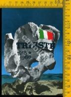 Trieste Cart. Del 50° Anniversario Della Redenzione Di Trieste - Trieste