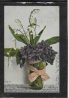 AK 0335  Veilchen Und Maiglöckchen - Frühlingsgruß Um 1904 - Blumen