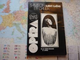 L'Avant-Scène Opéra N°15 Samson Et Dalila Saint-Saëns / Les Thèmes Bibliques De L'opéra - Livres, BD, Revues