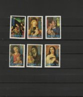 Ghana 1981 Paintings Lucas Cranach, Murillo Etc., Christmas Set Of 6 MNH - Arte