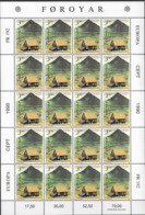 1990 Färöer Mi. 198-9 **MNH Europa  Postalische Einrichtungen - Europa-CEPT