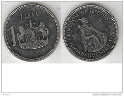 Lesotho 1 Loti 1998  Km 66  Unc - Lesotho