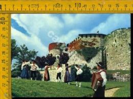 Gorizia Città Il Castello E Costumi Friulani - Gorizia