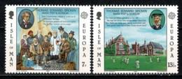 Man 1980 EUROPA Yv. 157/58**,   MNH - Man (Ile De)