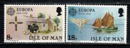 Man 1981 EUROPA Yv. 182/83**,   MNH - Man (Ile De)