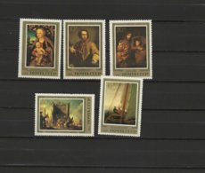 USSR Russia 1983 Paintings Lucas Cranach, Caspar David Friedrich Etc. Set Of 5 MNH - Arte