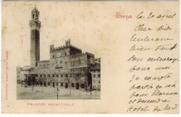 SIENA PALAZZO MUNICIPALE - Siena