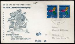Germany Bremen 1966 / 75 Jahre Drehstromubertragung Fortschritt In Technik Und Wissenschaft - Fabbriche E Imprese