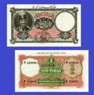 Persia Tehran 1 Toman 11.8. 1928 - Iran