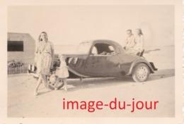PHOTO ANCIENNE Voiture Citroën Traction Coupé - Cars