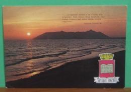 S. FELICE CIRCEO Tramonto Con Canto X Odissea Cartolina Viaggiata - Italia