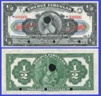 Peru 0,5 Libra 1914 - Peru