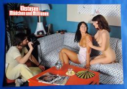 """Erotik-Kino-Film """"Ekstasen, Mädchen Und Millionen"""" (nude - Women - Nackt) # Original Altes Kinoaushangfoto # [19-542] - Fotos"""