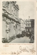 10818 Trapani - Facciata Della Chiesa Del Collegio E Del Palazzo Municipale - Trapani