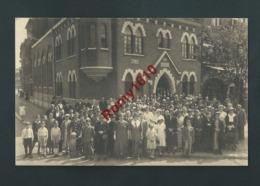 LIEGE. Quai Des Ardennes. Rassemblement Au Temple  Antoiniste. Fête Des Pères. Août 1936. Photo Carte. - Lüttich