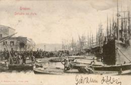 10868 Trapani - Dettaglio Del Porto - Trapani