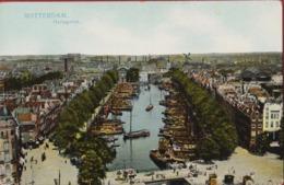Rotterdam Oude Stad Haringvliet Belle Epoque +/- 1905 (In Zeer Goede Staat) Windmolen Windmill Moulin A Vent - Rotterdam