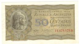 Argentina 50 Centavos. XF. - Argentina