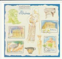 FRANCE. Carte Pré-timbrée Pre-stamped Card - Athenes, Capitales Européennes, 2019 - Enteros Postales
