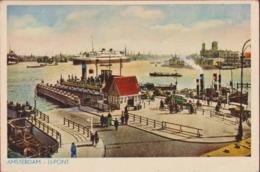 Amsterdam Het IJ IJ Pont Veerdienst Ferry - Amsterdam