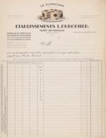 Mont-De-Marsan, Facture Specimen, Le Durocher. France. - 1900 – 1949