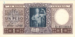 Argentina 1 Peso , AUNC. - Argentina