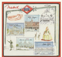 FRANCE. Carte Pré-timbrée Pre-stamped Card - Madrid, Capitales Européennes, 2019 - Enteros Postales