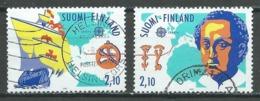 Finlande YT N°1141/1142 Europa 1992 Découverte De L'Amérique Par Christophe Colomb Oblitéré ° - Europa-CEPT