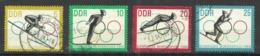 """DDR 1000-1003 """"4 Briefmarken Zu Oly-Winterspiele Innsbruck  63, Satz Kpl."""" Gestempelt Mi.-Preis 6,00 - Winter (Other)"""