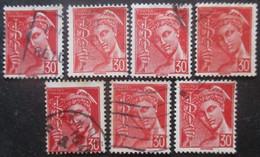 FRANCE N°547 X 7 Oblitéré - Postzegels