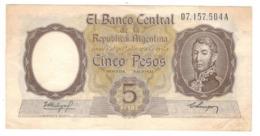 Argentina 5 Pesos , XF. - Argentina