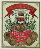 Cassis De Vendee - H. Vrignaud Fils - Distillateur A Lucon - Autres