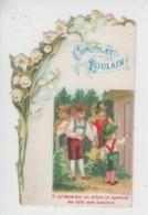 """Chromo Avec Découpis Chocolat Poulain - """"Le Petit Poucet"""" - """"Il Grimpa Sur Un Arbre ..."""" N°II - Poulain"""