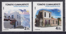 11.- TURKEY 2018 EUROMED HOUSES OF THE MEDITERRANEAN - Neufs