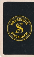 1 SPEELKAART STACEGHEM BRASSERIE ZWART - Unclassified