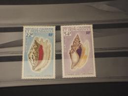 NOUVELLE CALEDONIE - P.a. 1970/1 Conchiglie 22-34 F. -  NUOVI(++) - Luftpost