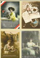 FRANCE. Carte Pré-timbrée Pre-stamped Card - 2018 - 4 V. - Enteros Postales