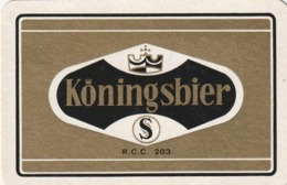 1 SPEELKAART STACEGHEM KONINGSBIER - Cartes à Jouer