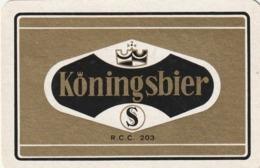 1 SPEELKAART STACEGHEM KONINGSBIER - Unclassified