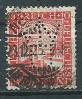 Timbre Allemagne Perforé - Usati