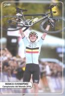 Ciclismo, Cyclisme, Cycling. Cartolina Col. Remco EVENEPOEL - Cyclisme